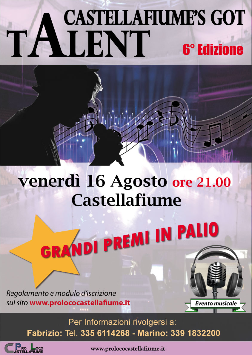 Castellafiume's got talent  6° edizione