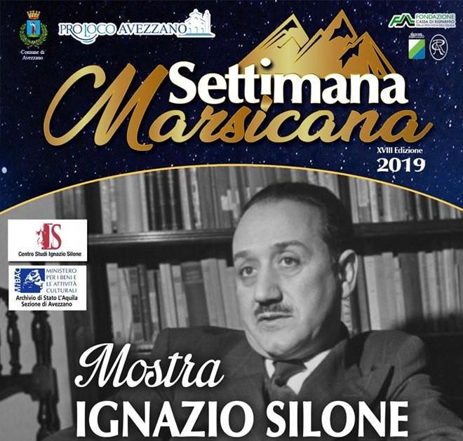 Mostra su Ignazio Silone alla Settimana Marsicana