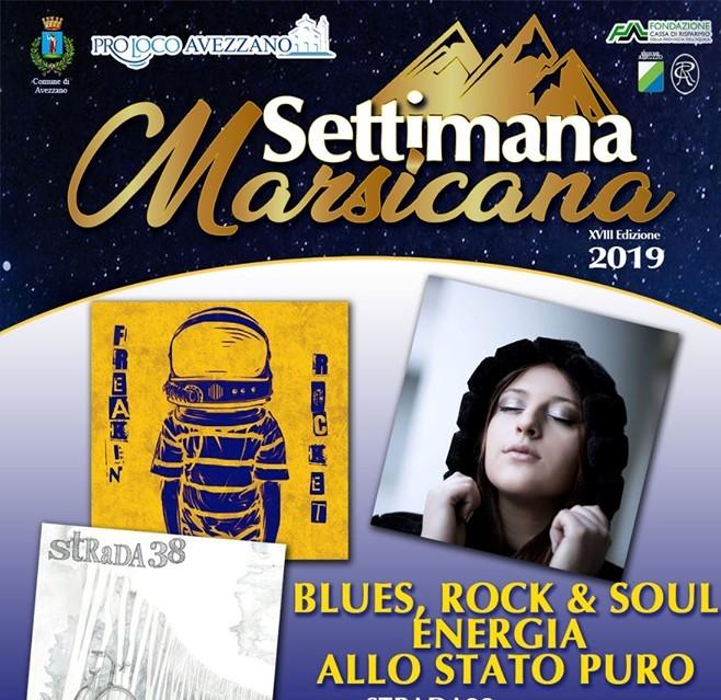Concerto di Blues, rock e soul alla Settimana Marsicana