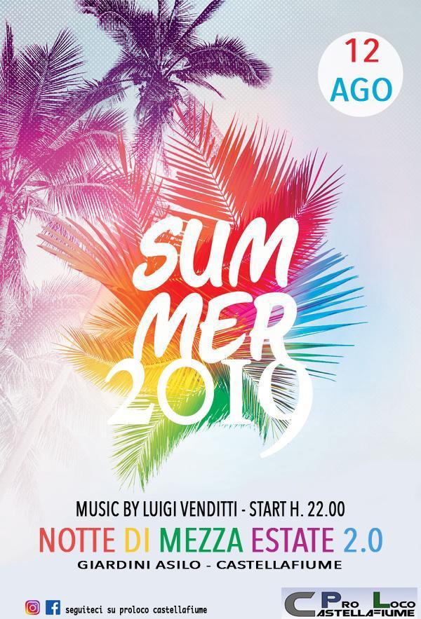 Notte di mezza estate 2.0 a Castellafiume