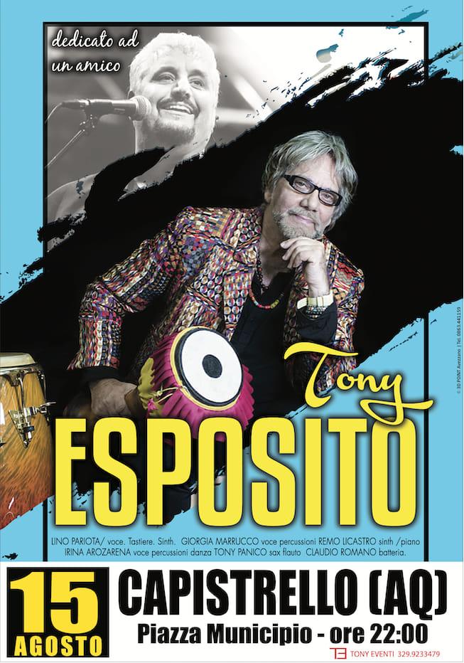 Concerto di Tony Esposito a Capistrello