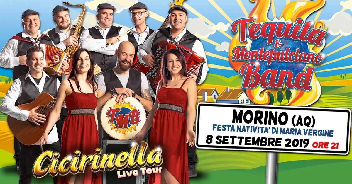 Tequila e Montepulciano Band a Morino