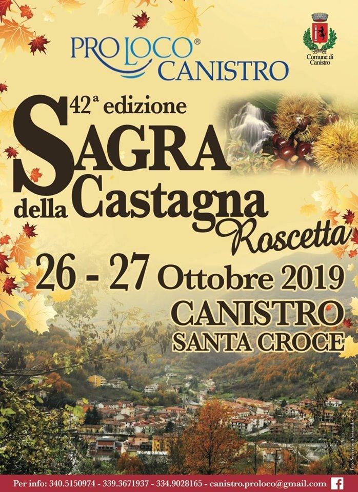 42' Sagra della Castagna roscetta a Canistro
