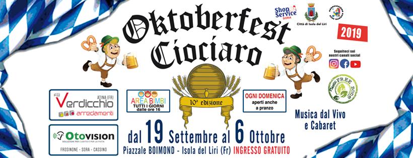 Decima edizione dell'oktoberfest ciociaro a Isola Del Liri