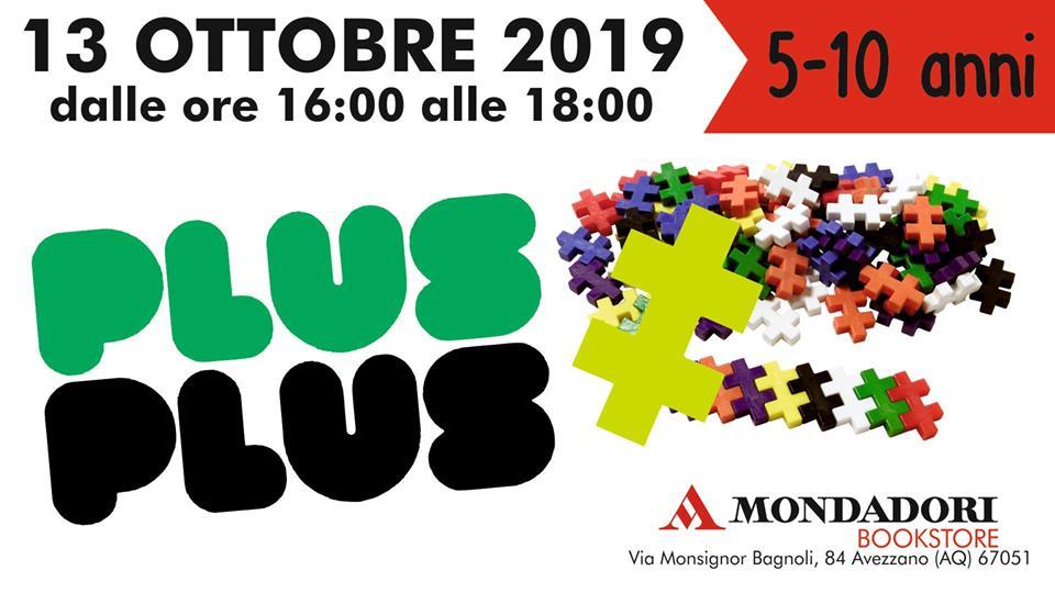 Laboratorio creativo Plus Plus presso Mondadori Store ad Avezzano