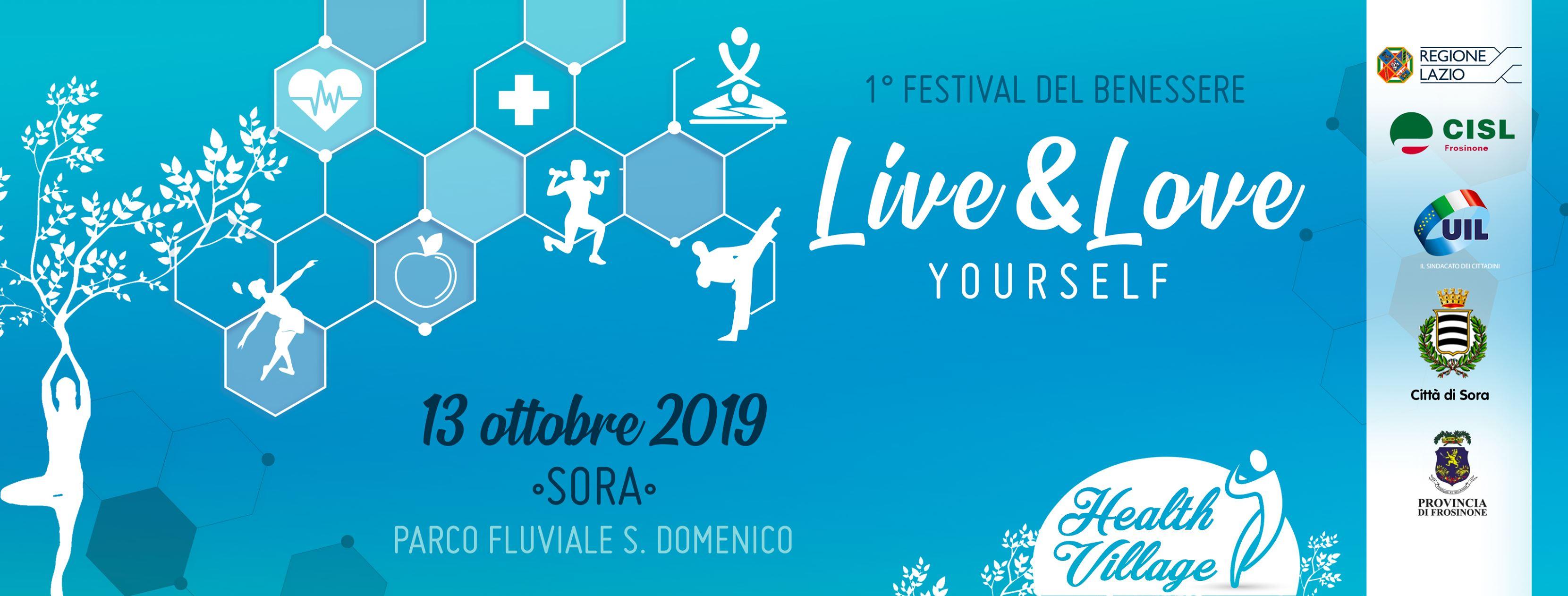 1' festival del benessere Live e Love Yourself a Sora