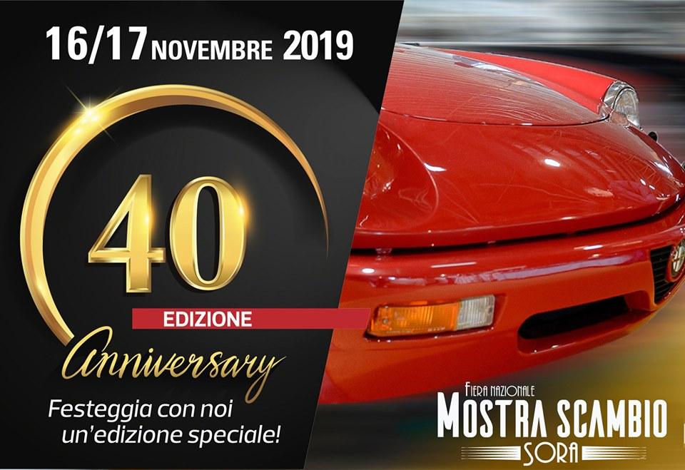 40' Edizione della piu' grande rassegna di auto e moto d'epoca del Centro Italia