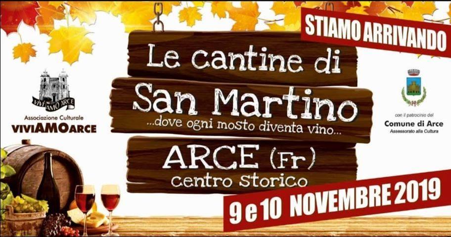 Le cantine di San Martino 2019 ad Arce
