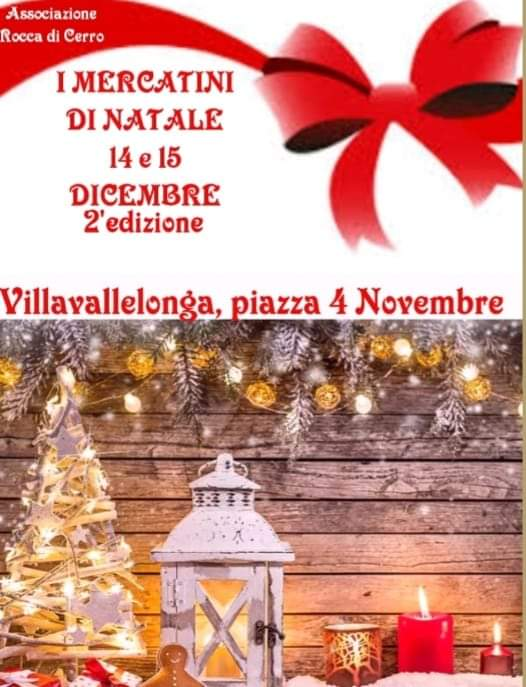 Mercatini di Natale a Villavallelonga