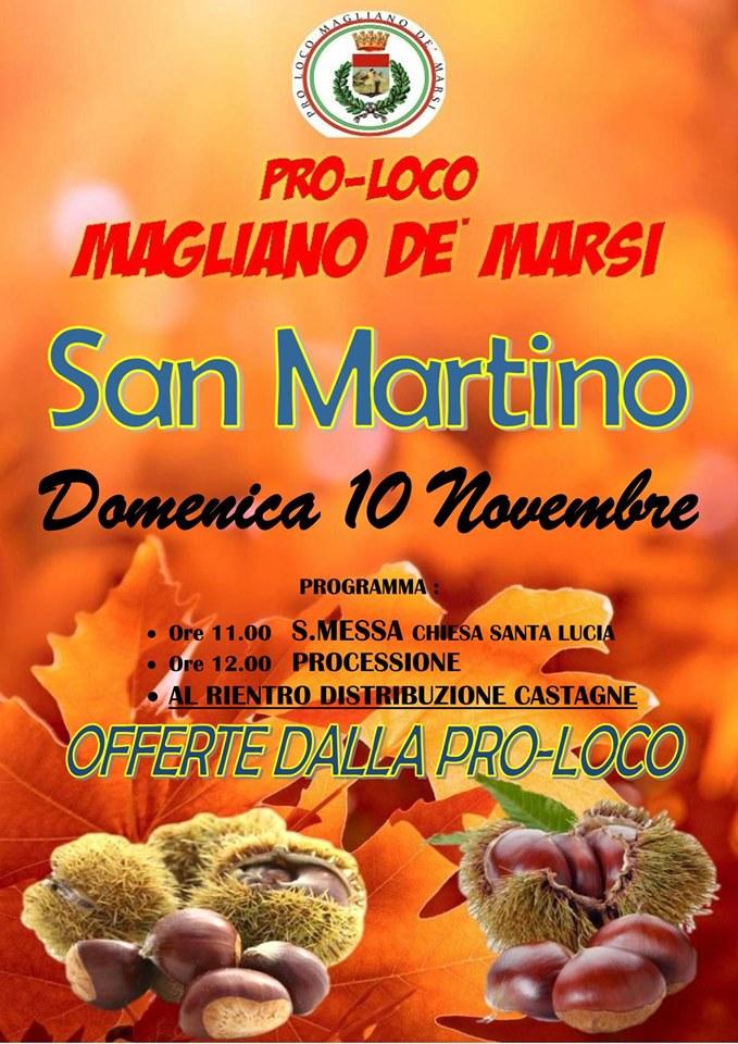 Festa di San Martino a Magliano De Marsi
