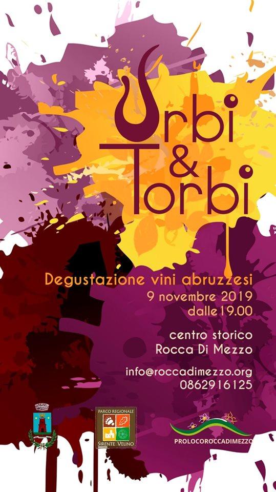 'Urbi e Torbi', degustazione di vini Abruzzesi a Rocca di Mezzo