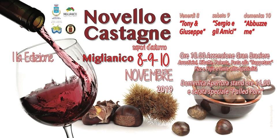 Evento 'Novello e Castagne' a Miglianico