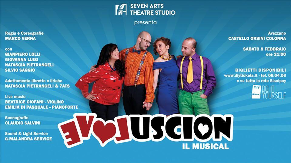 Evoluscion, Musical presso il Castello Orsini ad Avezzano