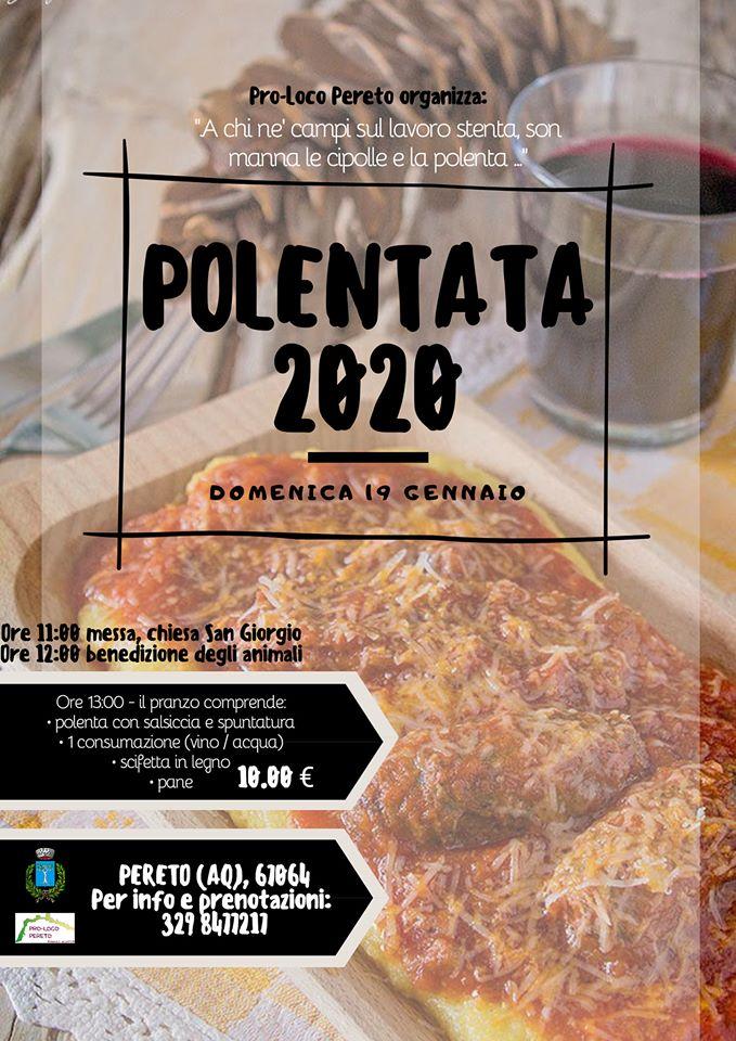 Polentata 2020 a Pereto