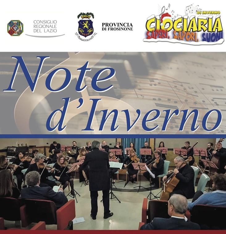 Concerto 'Note d'Inverno' a Frosinone