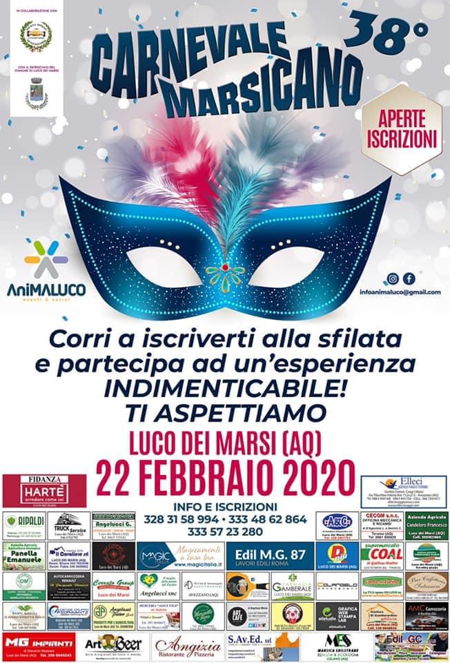 38' edizione del Carnevale Marsicano