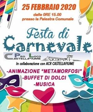 Festa di Carnevale a Castellafiume