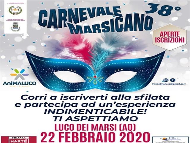 38 edizione del Carnevale Marsicano