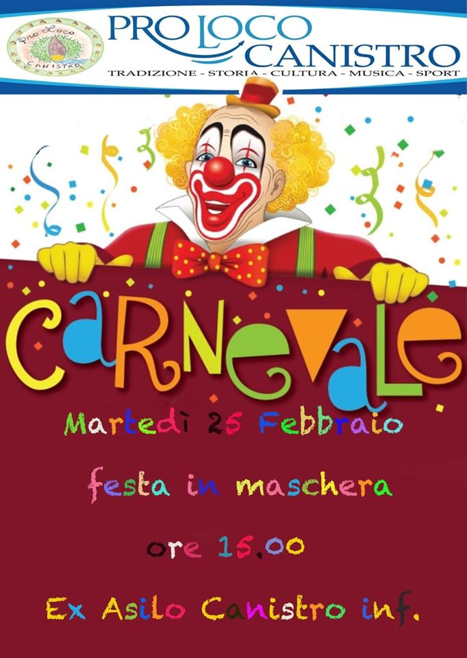 Carnevale a Canistro