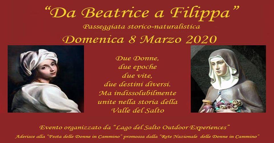Passeggiata storico-naturalistica ''Da Beatrice a Filippa'' a Petrella Salto