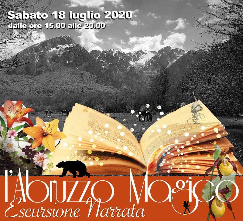 Escursione narrata nel Bosco della Difesa nel Parco Nazionale D'Abruzzo