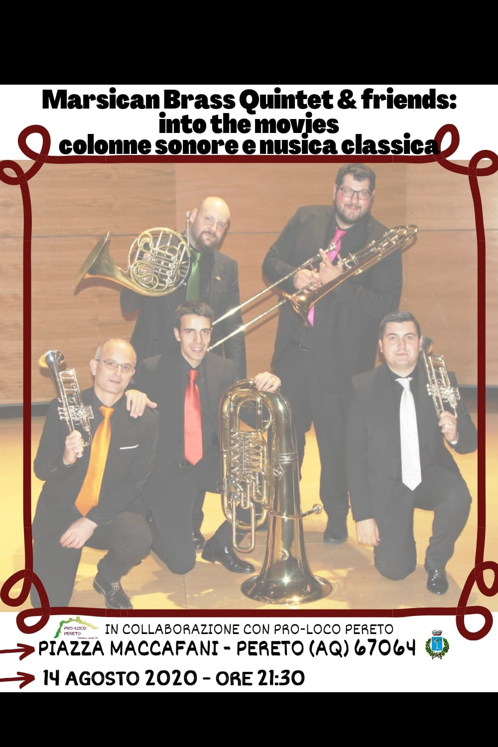 Marsican Brass Quintet & Friends: Into the movies