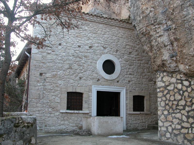 Apertura eremo Madonna di Pietrabona a Castel Di Ieri